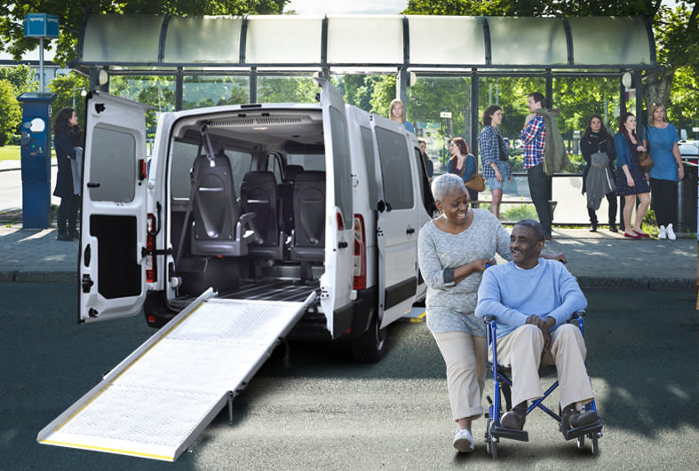 TRANSPORT FOR PEOPLE WITH DISABILITIES Gruau